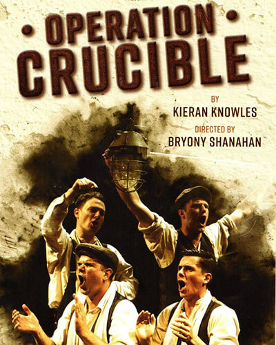 Operation Crucible Theatre Producer and Investment in Theatre